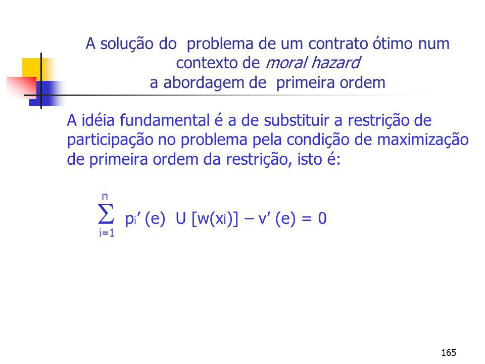  pi' (e) U [w(xi)] – v' (e) = 0